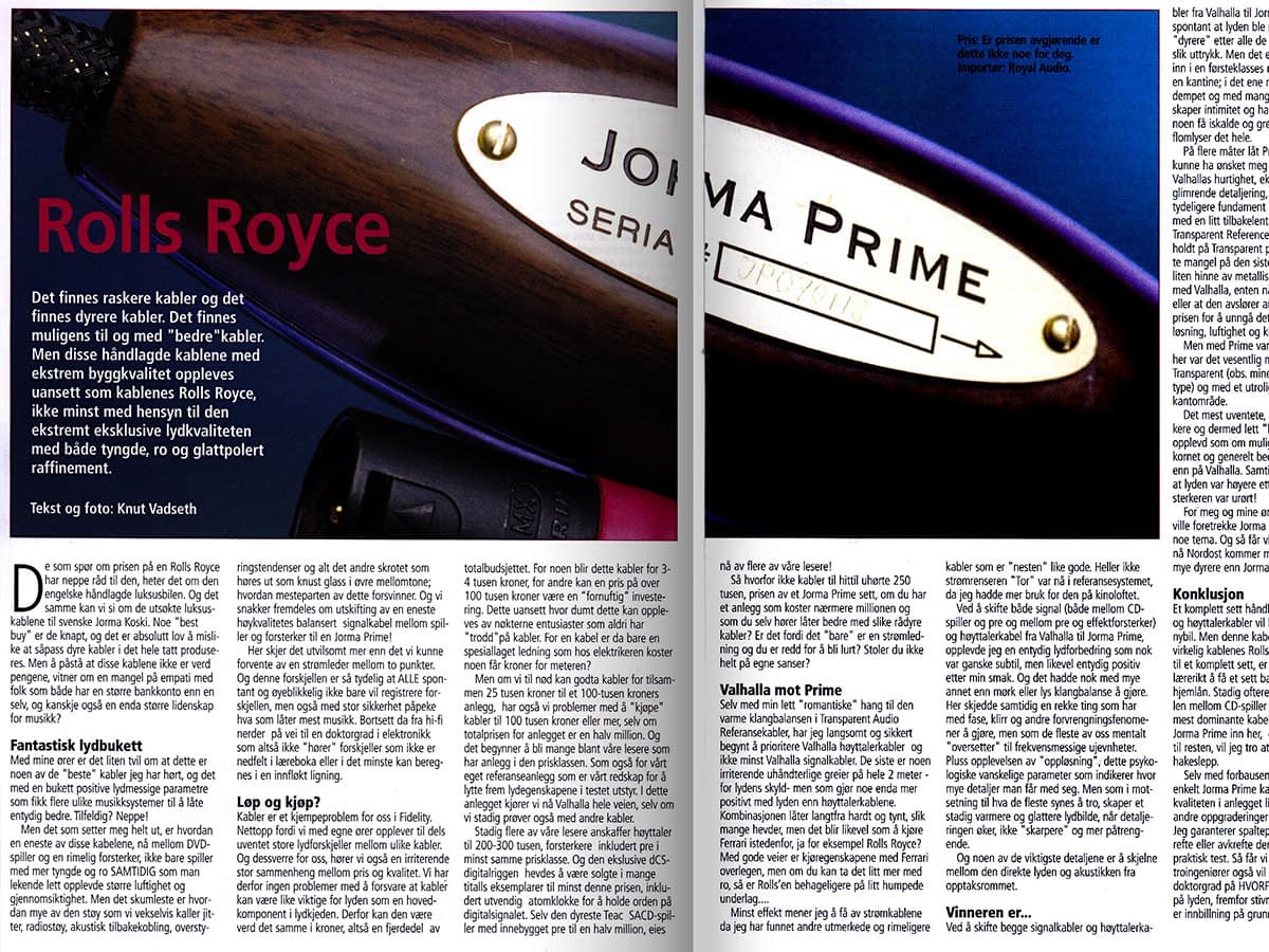 Jorma Prime review in Fidelity