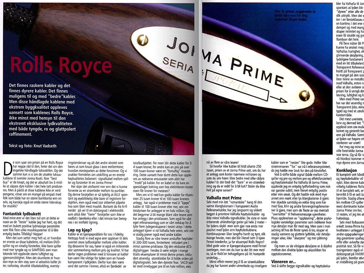Jorma Prime review in Fidelity